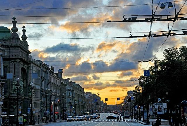 Белые ночи в Санкт-Петербурге 2012