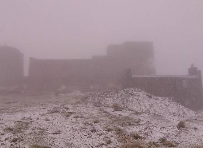 сніг у Карпатах