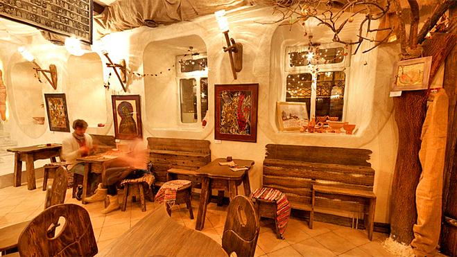 Гид по Киеву: ресторан Культ Ра