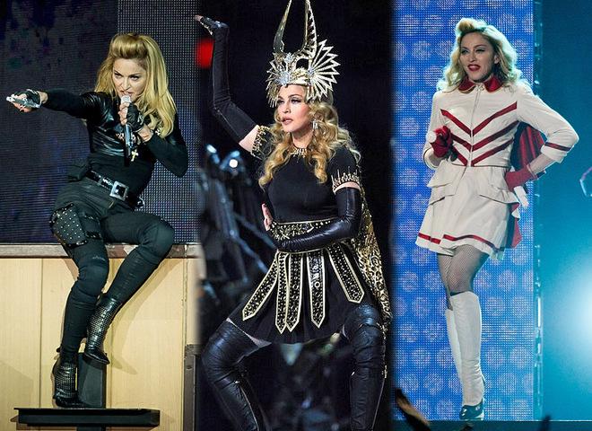 Наряди Мадонни на концерті