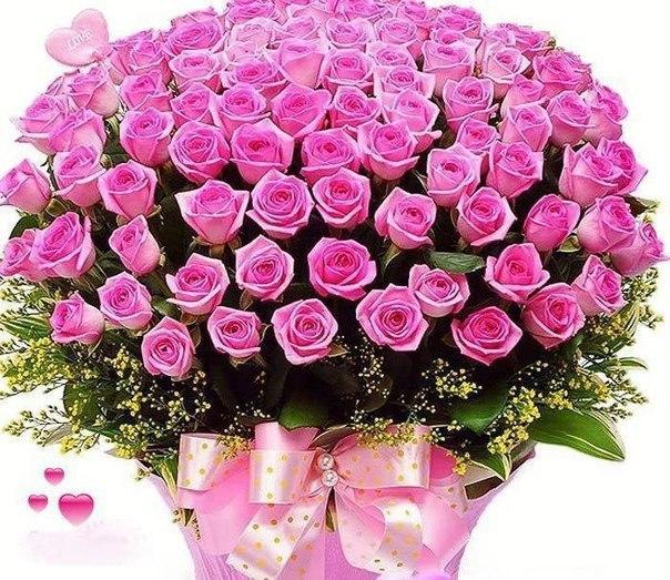 Поздравления с днем рождения фото цветы букеты