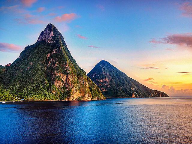 Романтические острова: Сент-Люсия