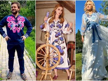День вышиванки: все виды традиционных орнаментов в нарядах украинских звезд
