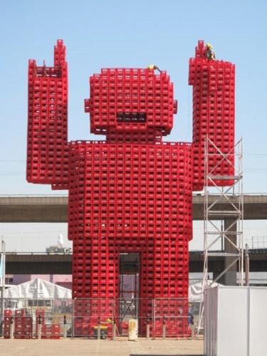 Робот из Кока кольных ящиков