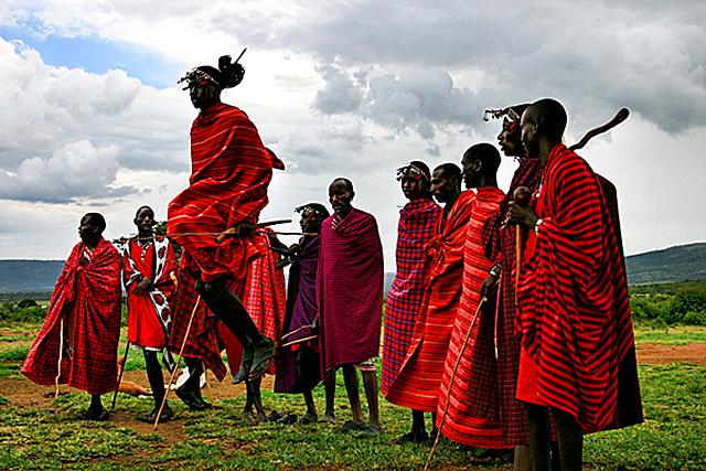 Племена, де може пожити турист: Плем'я Масаї (Кенія)