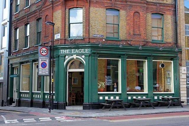Лондон за два дні: ресторан The Egle