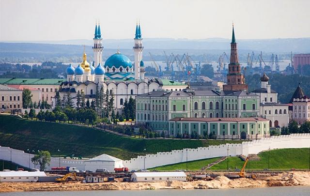Висотна Казань: Казанський кремль