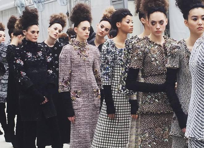 Показ Chanel Haute Couture осінь-зима 2016/2017