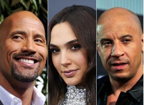 Рейтинг самых кассовых актеров 2017 года поверсии Forbes