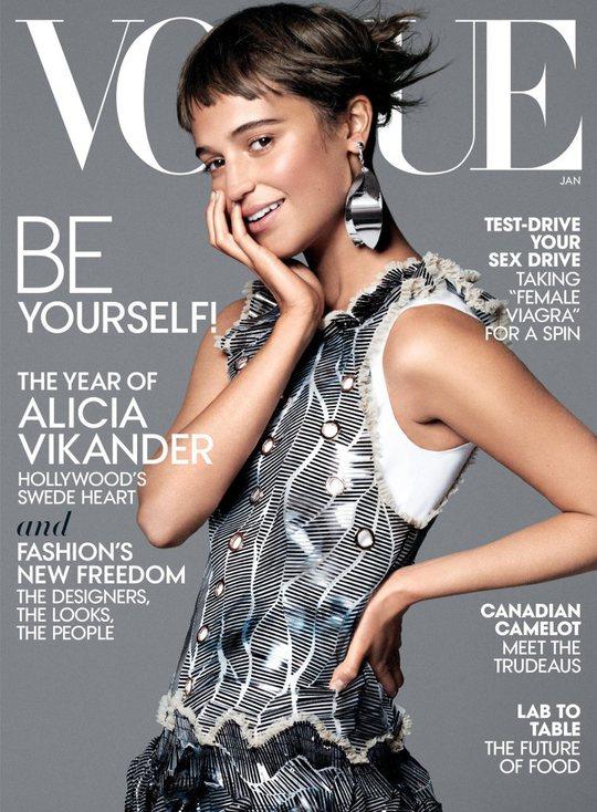 Алісія Вікандер для Vogue