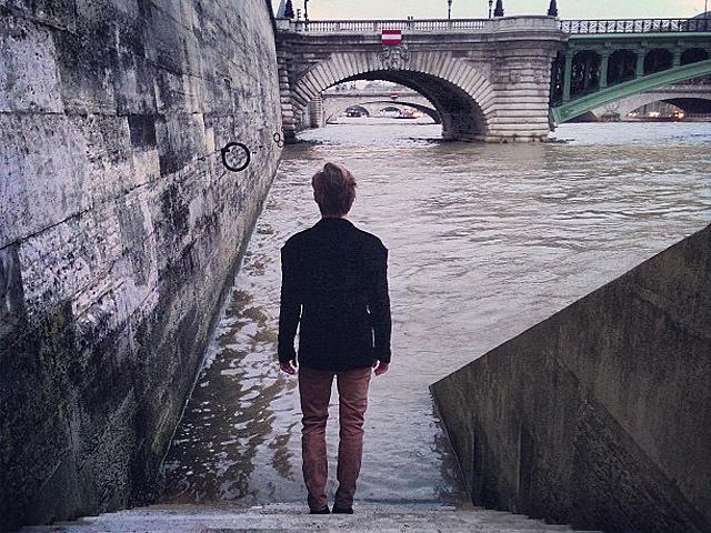 Алан Бадоев в Париже