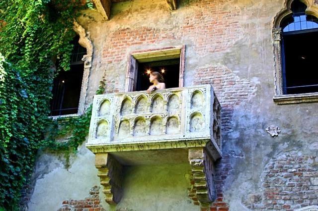 Достопримечательности Вероны: балкон Джульетты
