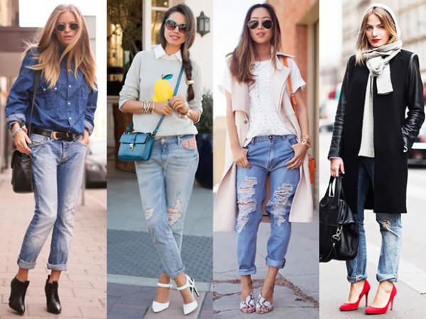 Рваные джинсы: как и с чем носить