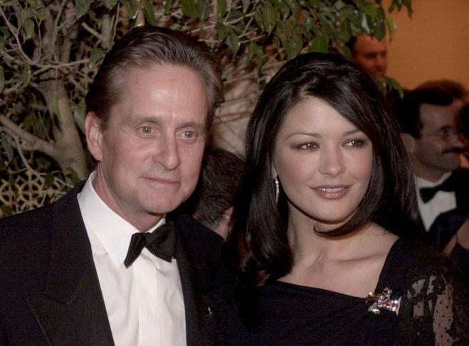 Майкл Дуглас и Кэтрин Зета-Джонс в 2000 году