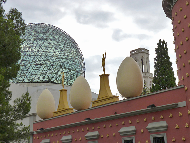 Арт-туризм: по стопах Сальвадора Далі: Театр-музей у Фігерасі