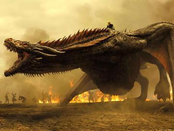 """Кадр із серіалу """"Гра престолів"""""""