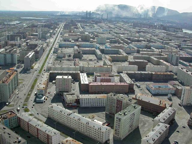 Найбрудніші міста світу. Норильськ, Росія