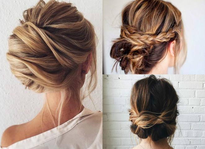 Швидкі зачіски для середньої довжини волосся