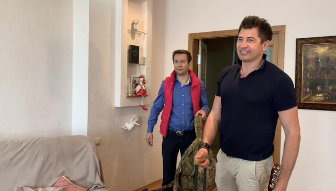 Андрей Джеджула и Дмитрий Ступка