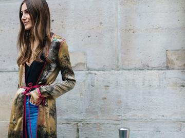 Street style на Неделе высокой моды в Париже FW 2016/2017