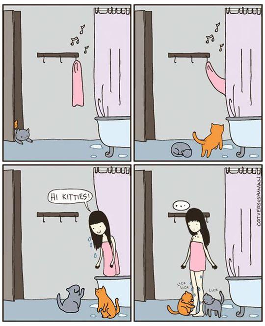 Комікси про котів
