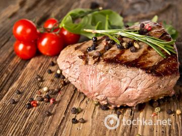 Маринад для шашлыка, мясо