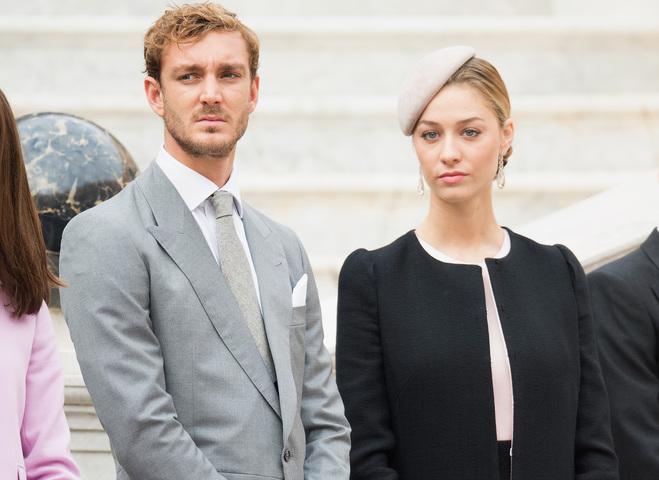 принцесса Беатрис Борромео и принц Пьер Казираги