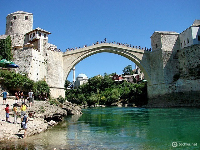 Старий міст (Stari Most, Мостар, Боснія і Герцеговина)