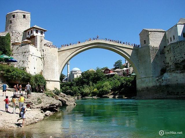 Старый мост (Stari Most, Мостар, Босния и Герцеговина)