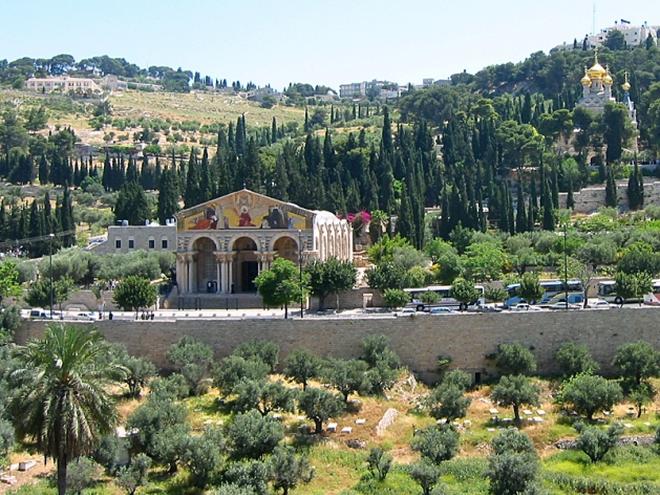 Достопримечательности Иерусалима: Гефсиманский сад