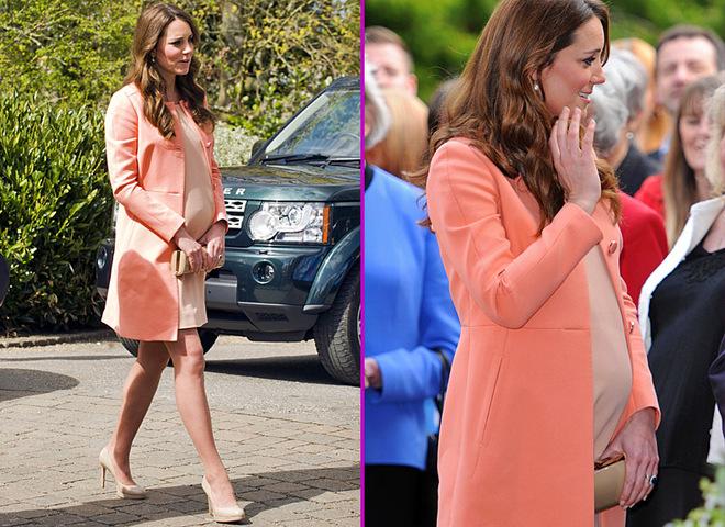 Беременная Кейт