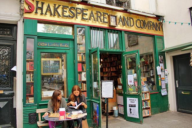 Романтические книжные магазины