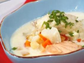Бергенский рыбный суп
