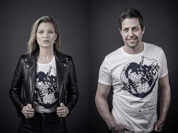 Кейт Мосс, Хью Грант и другие звезды присоединились к благотворительному fashion-проекту Вивьен Вест