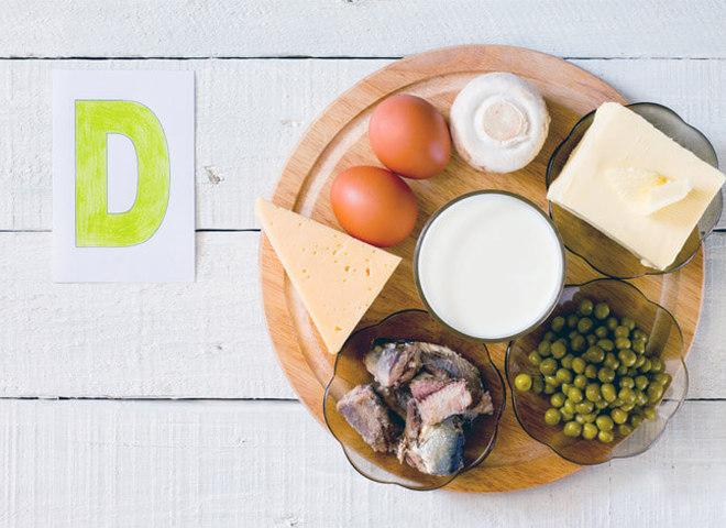 Продукти, що містять вітамін D