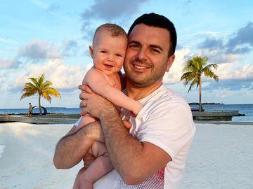 Григорій Решетник з молодшим сином