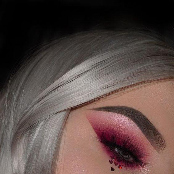 Модный макияж зима