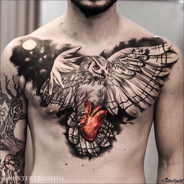 Татуировки, которые вызывают восторг