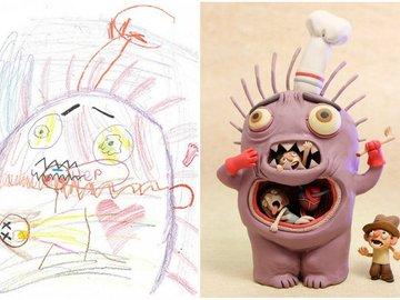 Рисунки The Monster Project