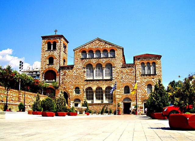 Цікаві місця Салоніки: Базиліка святого Димитрія