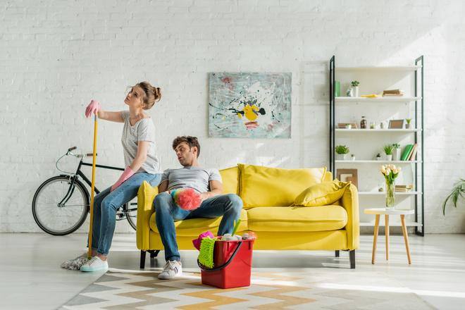 Как убрать в квартире