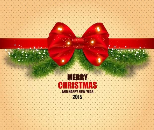 Волшебная открытка на Рождество 2015