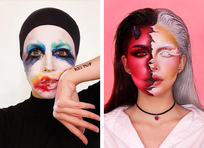 Незвичайні ідеї макіяжу на Хеллоуїн