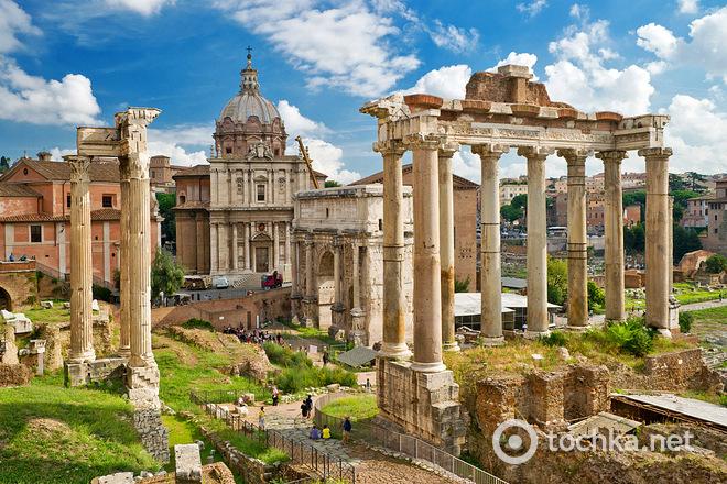Куди поїхати на новорічні канікули: пункт призначення - Рим