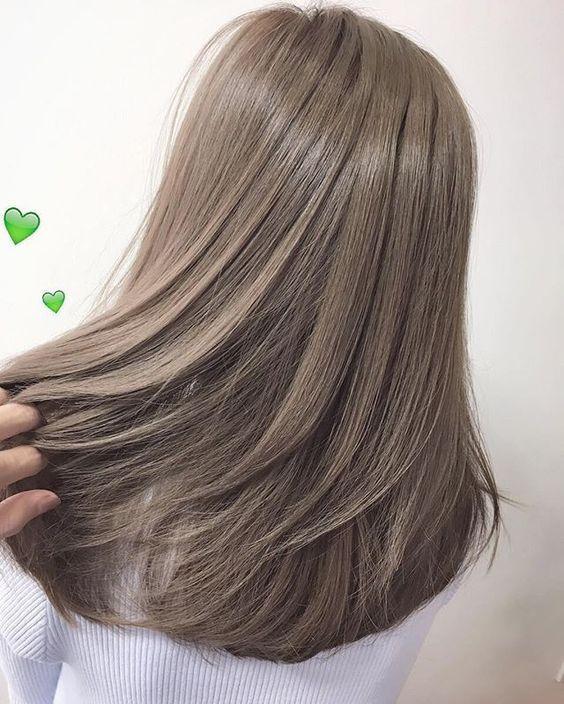 Модный цвет волос осень 2018