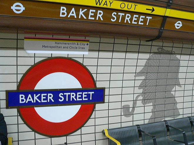 Путешествие страницами книги: улица Бейкер Стрит