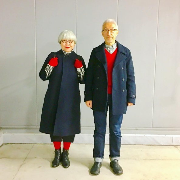 Стильная пара из Японии Бон и Пон