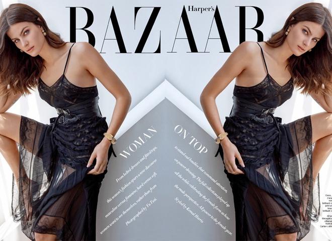 Грациозная Изабели Фонтана в фотосессии для Harper`s Bazaar