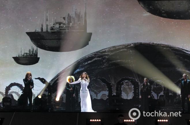 Первые кадры с репетиции Евровидения