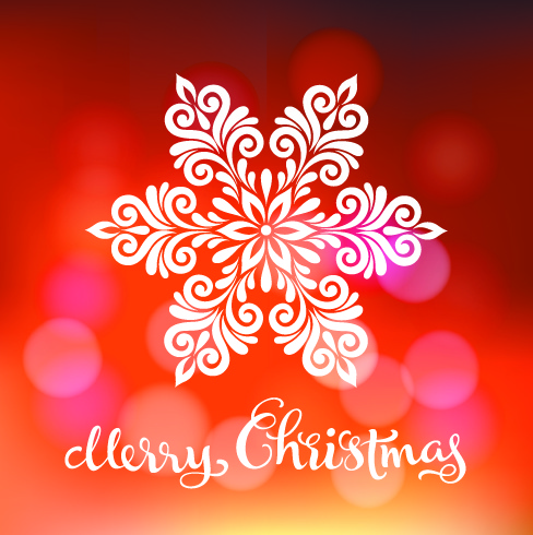 Красивая открытка на Рождество
